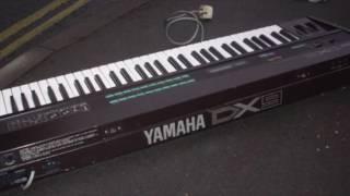 Yamaha DX 7 & DX9 1983 US demo flexidisc