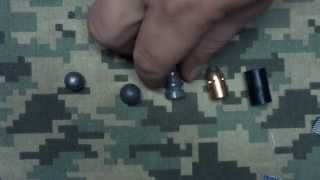 Muzzle loading tip for shooting conical bullets with cloth patches