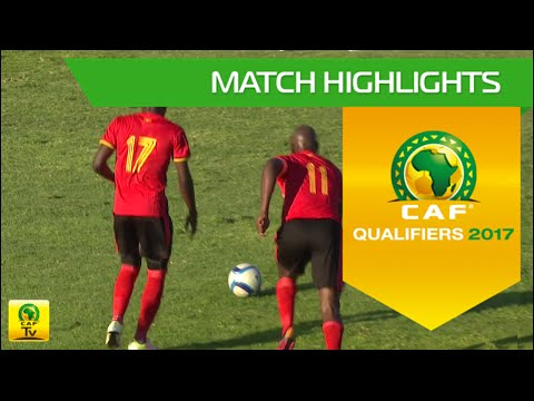 Botswana vs Uganda | Africa Cup of Nations Qualifiers 2017