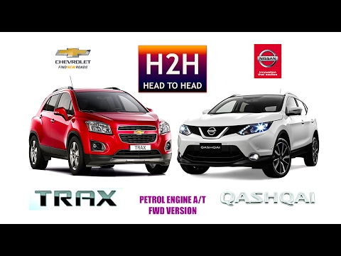 H2h 102 Nissan Qashqai Vs Chevrolet Trax Youtube
