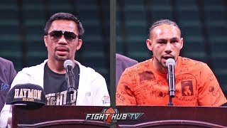 THE FULL MANNY PACQUIAO AND KEITH THURMAN POST FIGHT PRESS CONFERENCE