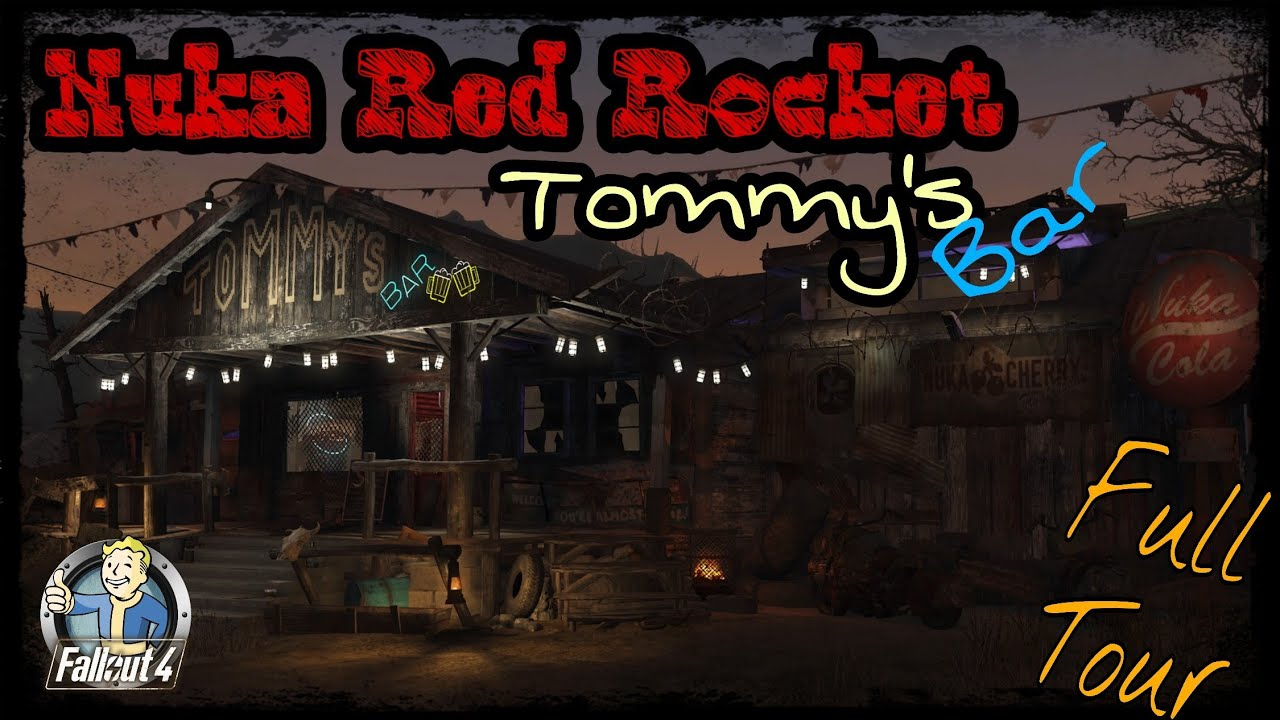 Fallout 4 | Tommy's Bar - Nuka Red Rocket (PS4)