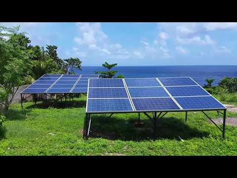 Living off grid in Ocho Rios Jamaica 6KW Solar Energy solars