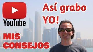 ¿Cómo grabo mis videos? CÁMARAS, BATERÍAS, CARGADORES, DRONE...
