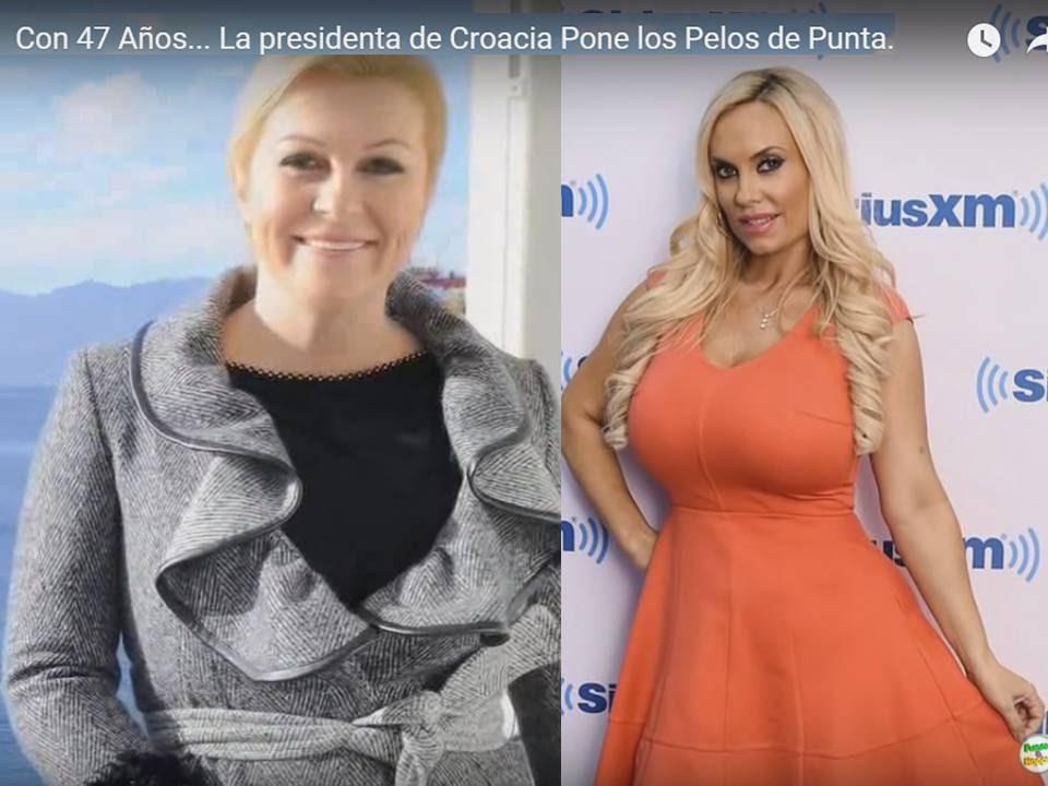 Con 47 Años... La presidenta de Croacia Pone los Pelos de ...