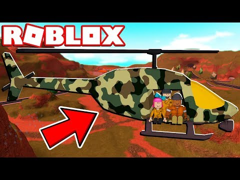 ROBLOX JAILBREAK ARMY HELICOPTER!! (One Year Anniversary Update)