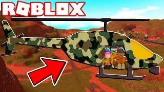 ROBLOX JAILBREAK ARMY HELICOPTER!! (Ein Jahr Jubiläums-Update)