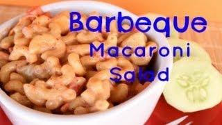 How To Make Bbq Macaroni Salad |side Dish | Six Sisters Stuff