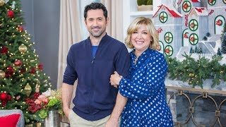 """Jennifer Aspen & David O'Donnell on producing """"A Christmas Love Story""""- Home & Family"""