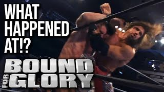 WHAT HAPPENED AT: IMPACT Wrestling Bound For Glory 2018