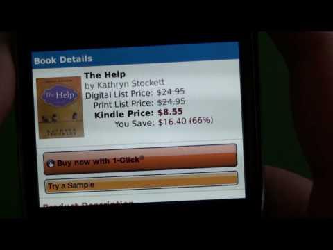 Kindle App For BlackBerry Smartphones