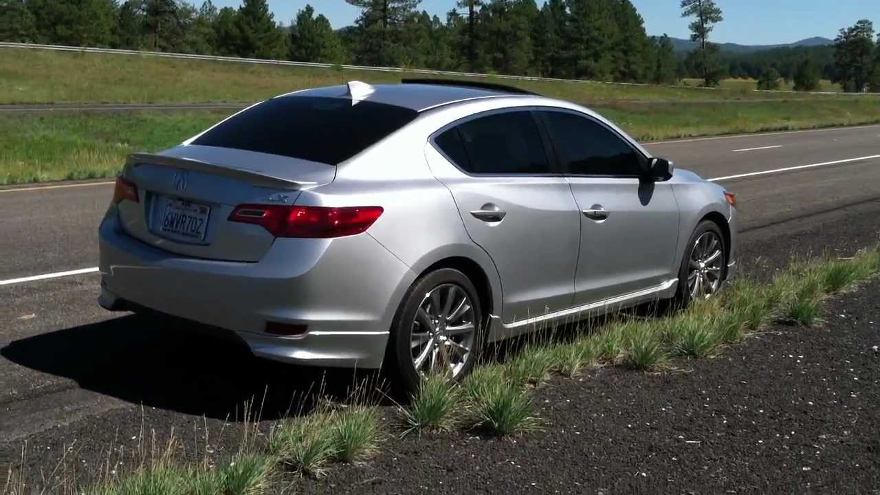 Acura ILX Miles And Counting YouTube - Acura ilx accessories