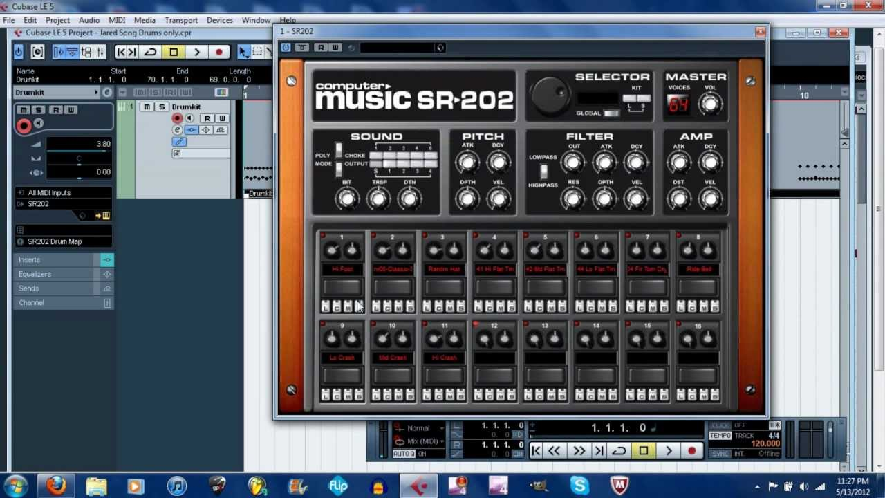 How to Download and Install the SR202 Drum Sample Player - YouTube