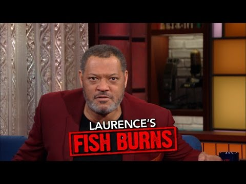 "Laurence Fishburne Presents ""Laurence's Fish Burns"""
