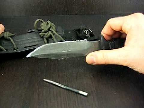 SOG SEAL Pup Knife Review & Demo-Urban Survival - YouTube