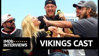 vikings cast play whose beard is it?