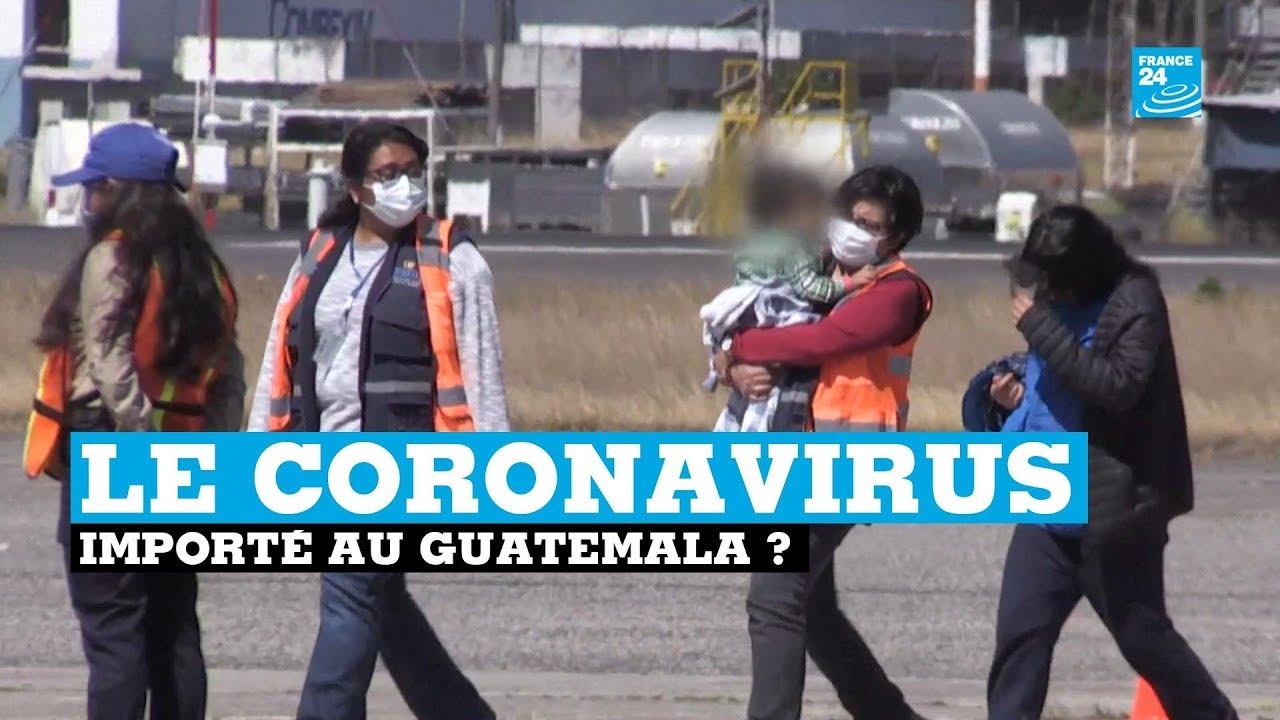 Guatemala : les expulsions américaines peuvent-elles importer le coronavirus ?