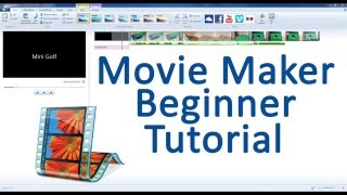 Movie Maker Beginner Tutorial!