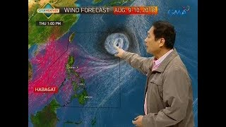 UB: Weather update as of 6:01 a.m. (Aug. 9, 2018)
