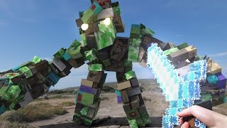 Minecraft In Real Life - The Master Sword (Part 2)