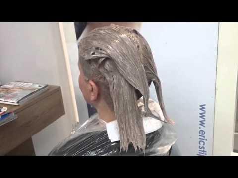Koloryzacja Na Ciemny Blond Youtube