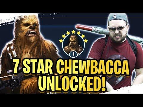 7 Star Chewbacca Legendary Guide! F2P, No Zetas, No Bossk, No High Speed! | Galaxy of Heroes
