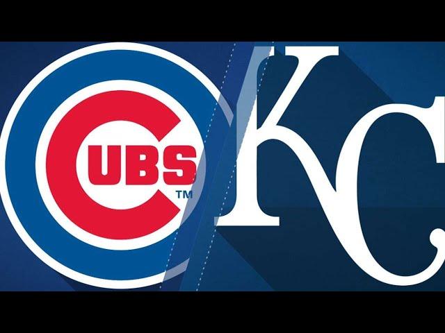 Fillmyers gem, Royals bats defeat Cubs, 9-0: 8/8/18