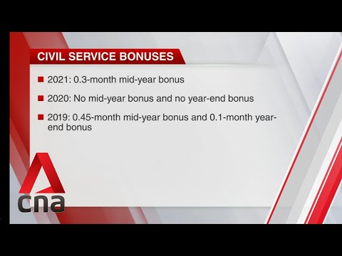 Civil servants to get 0.3-month mid-year bonus
