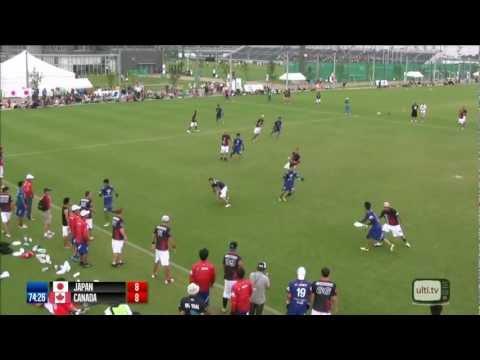 WUGC2012 - Open - Japan v Canada