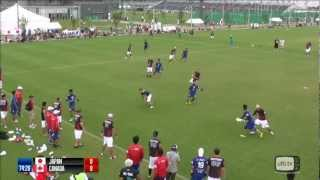 WUGC2012 - Open - Japan v Canada
