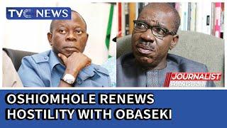 Oshiomhole renews hostilities with Governor Obaseki