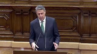 """Albiol, a Torra: """"Pensa que Rajoy s'asseurà a negociar com es trosseja Espanya?"""""""