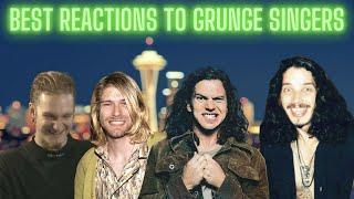 Best of People Reacting to Grunge Singers