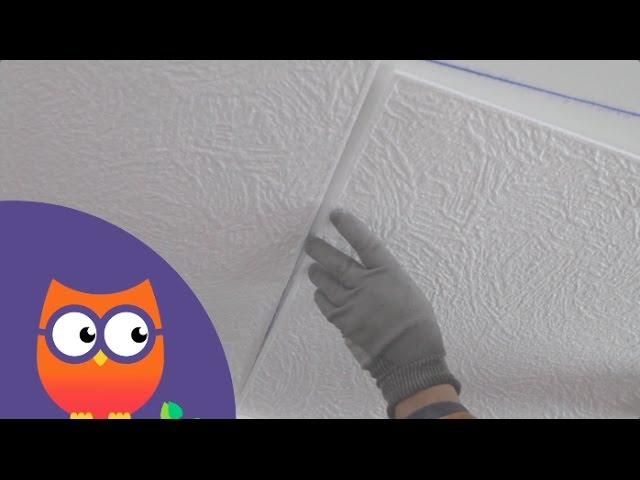 Tuto Poser Des Dalles De Plafond Decoratives Ooreka Fr Youtube