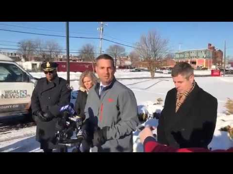 Deputy US marshal killed, police officer wounded in Harrisburg, Pa : press  conference