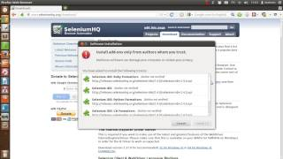 Selenium IDE Firefox Installation Beginner Tutorial