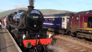 Scottish Steam - August 2013