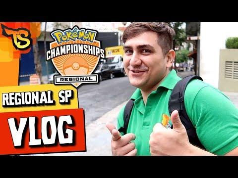 VLOG REGIONAL Pokémon TCG São Paulo! (2018 Parte 1)