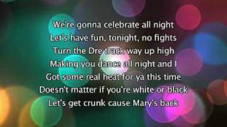 Mary J Blige - Family Affair, Lyrics In Video