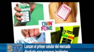Lanzan el primer celular del mercado diseñado para personas invidentes