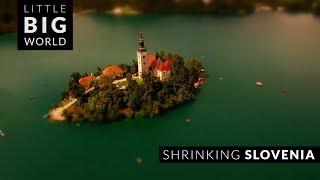Shrinking Slovenia (4k -Time lapse - Aerial - Tilt...