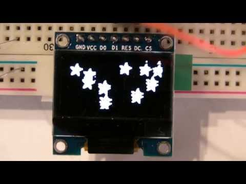 SSD1306 0 96 oled stm32 by Alexander Lutsai