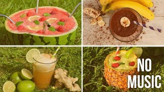 How to Make Easy Healthy Drinks - no music