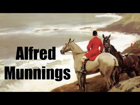 Alfred Munnings-Man vs Modern Art