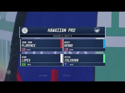 2017 Hawaiian Pro: Round Three, Heat 8