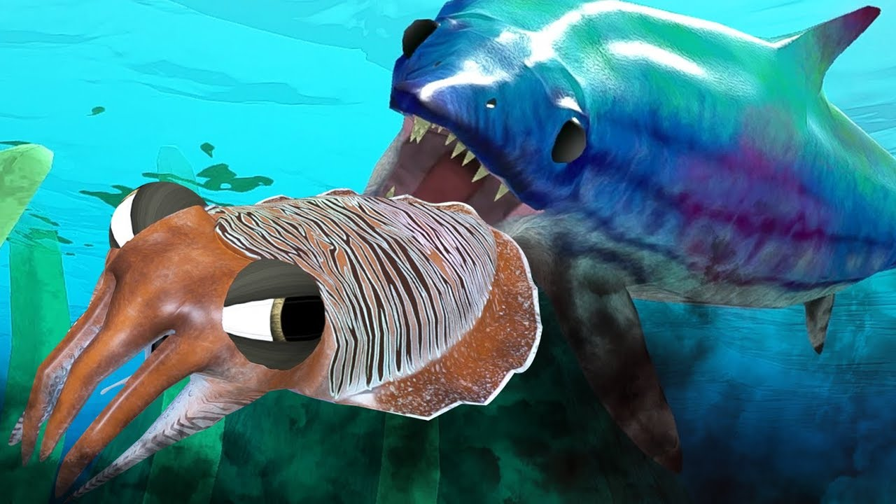 Unlocked ichthyosaurus vs new cuttlefish feed and grow for How to feed fish