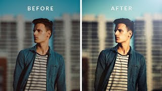 How to Make Your Photos Look Better in Photoshop | Cinematic Color Grading
