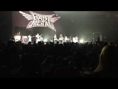 BABYMETAL Gimme Chocolate C&R plus See You Columbia SC 2017