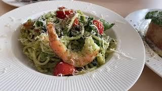 베지테리언 식당 '일용할 양식' - 바질페스토 파스타 …