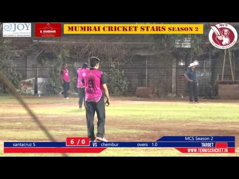 match 1   Mumbai Cricket Stars Season 2